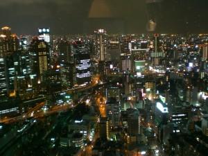 大阪空中庭園夜景