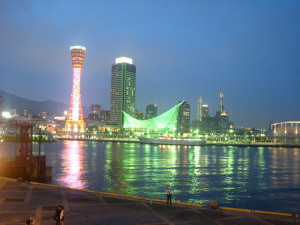 神戶mosaic廣場夜景