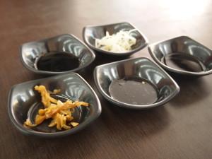 五花馬水餃店醬料