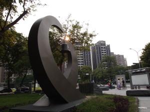 台中國立台灣美術館廣場