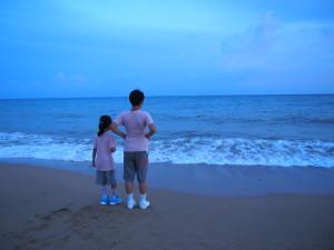 夏都酒店的沙灘