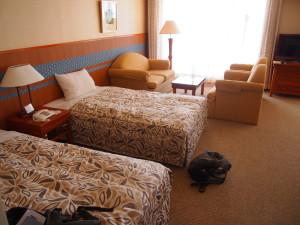 Rizzan Sea Park 海景房床的大小