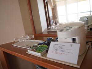 Rizzan Sea Park 酒店飲用熱水要自己煲