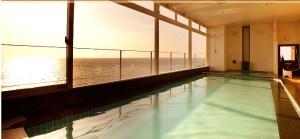 Vessel Hotel 展望浴場