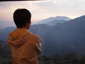 雲頂渡假山莊黃昏景色