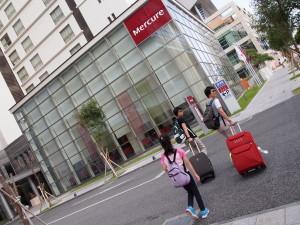 壺川站旁的 Mercure Okinawa Naha Hotel