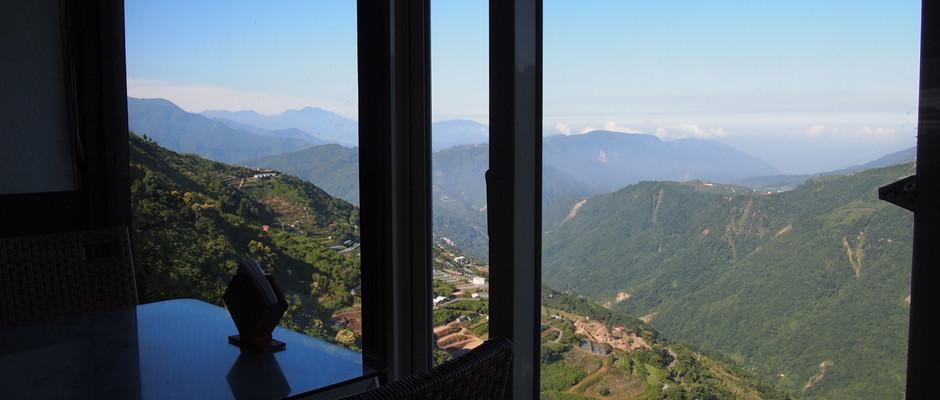 怡人的早餐景: 雲頂山莊