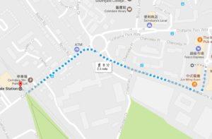 google-street-route